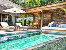 La superbe piscine de la Marangga Villa du Nihi Sumba