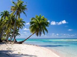 La superbe plage du Ninamu Resort en Polynésie