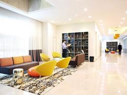 Intérieure de l'hôtel Novotel Clarke Quay à Singapour