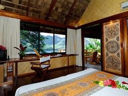 Bungalow Premium Bay View du Keikahanui Pearl Lodge sur les Iles Marquises