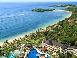 Vue aérienne du Nusa Dua Beach Hotel & Spa