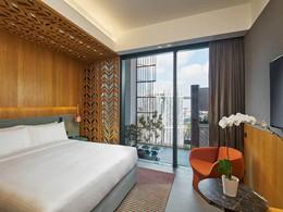 Deluxe Room de l'Oasia Hotel Downtonwn à Singapour