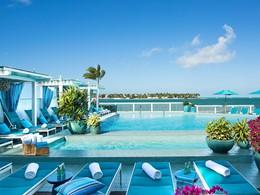 La splendide piscine de l'hôtel Ocean Key, en Floride