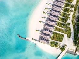 Vue aérienne des Grand Beach Villas