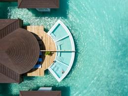 Vue de l'Ocean Spa, situé sur la Dream Island