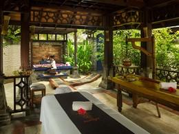 Le spa de l'hôtel 4 étoiles Olhuveli aux Maldives