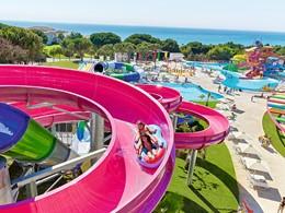 L'incroyable Aquapark de l'Olympia Oasis en Grèce