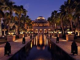 Vue de l'hôtel Royal Mirage Resort Palace