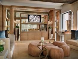 Le lobby du spa de l'hôtel One & Only The Palm