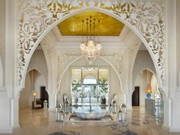 L'entrée de l'hôtel One & Only The Palm à Dubaï