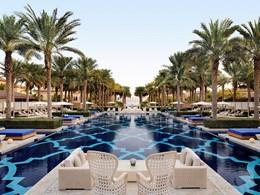 La piscine de l'hôtel One & Only The Palm