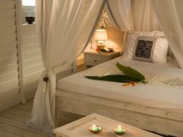 Bungalow Piscine de l'hôtel Opoa Beach en Polynésie