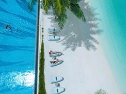 Détente sous le soleil des Maldives