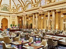 Le restaurant du Garden Court du Palace Hotel