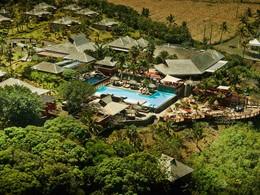 Vue aérienne du Palm Hôtel & Spa à la Réunion