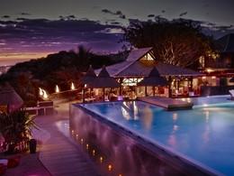 Extérieure du restaurant Kah Beach au Palm Hôtel & Spa à la Réunion