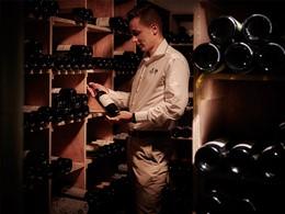 La cave à vin du Palm Hôtel & Spa à la Réunion