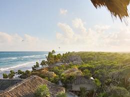 Vue du Papaya Playa Project