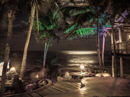 Le bar de plage
