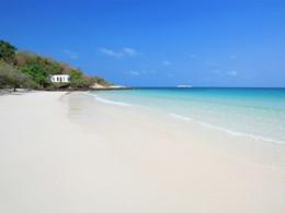 La plage de l'hôtel Paradee en Thaïlande