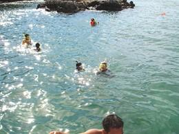 Snorkeling à l'hôtel Paradee en Thaïlande