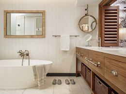 La salle de bain de la Suite Junior Prestige