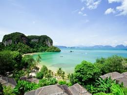 Vue du Paradise Koh Yao Boutique Beach Resort situé sur l'île de Kho Yao Noi