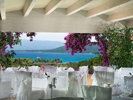 Le restaurant Arcipelago du Cala di Lepre en Sardaigne