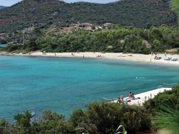 La plage de l'hôtel Cala di Lepre Park Hôtel & Spa