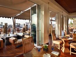 Le restaurant The Terrace du Park Hyatt Dubaï