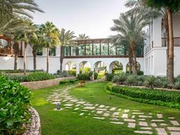 Le jardin de l'hôtel Park Hyatt Dubaï