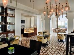 Le lounge de l'hôtel Park Hyatt à Dubaï