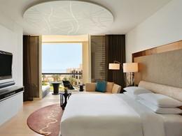 Garden View Suite de l'hôtel Park Hyatt à Abu Dhabi