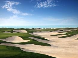 Le terrain de golf du Park Hyatt à Abu Dhabi