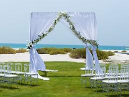 Mariage à l'hôtel Park Hyatt Saadiyat