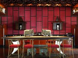 Le bar de l'hôtel Park Hyatt situé au Cambodge