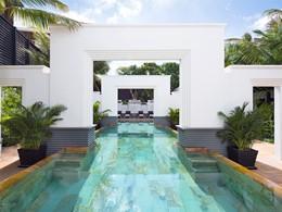La piscine de l'hôtel Park Hyatt Siem Reap au Cambodge