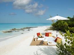 Pique-niquez sur la plage du Parrot Cay & Como Shambala