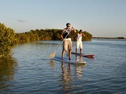 Paddle au Parrot Cay & Como Shambala à Turks & Caicos
