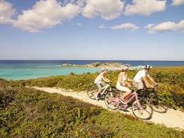 Balade à vélo à l'hôtel Parrot Cay & Como Shambala