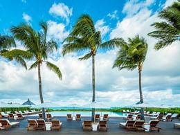 La piscine de l'hôtel Parrot Cay & Como Shambala