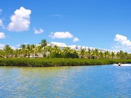 Vue du Parrot Key, le plus bel hôtel de luxe en bord de mer à Key West