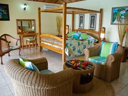 La Deluxe Room du Patatran Village aux Seychelles
