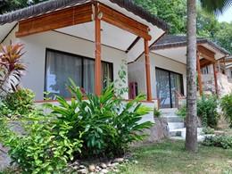Vue extérieure de la Standard Room du Patatran Village