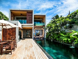 3 BR Beach Front Pool Residence
