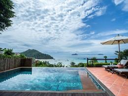La piscine de la Hillside Pool Villa