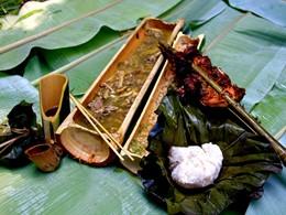 Découvrez la nourriture Akha du Phu Chaisai Mountain Resort