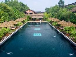 La piscine du Pilgrimage Village, la plus belle adresse de Hué