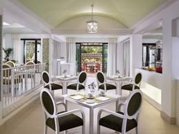 Le restaurant Jardim Colonial du Pine Cliffs Hotel