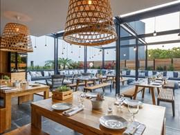 Le restaurant À TERRA du Praia Verde est inspiré par la nature